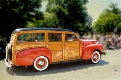 Woody Station Wagon... where's the beach?