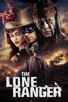 The Lone Ranger with Johnny Depp love this movie <3