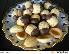 - recept z návodu - TopRecepty. Pretzel Bites, Eid, Christmas Cookies, Sweet Tooth, Almond, Muffin, Pudding, Sweets, Fruit