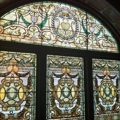 Tiffany Glass at The Whitney.  My grandmother used to take me here often when I was little.