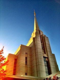 Rexburg, Idaho #LDS #Temple