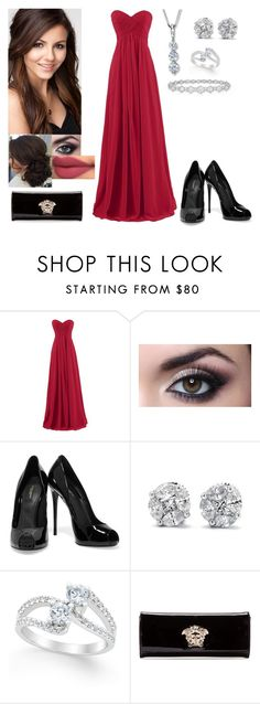 """Tori Vega"" by charmedgreys ❤ liked on Polyvore featuring Dolce&Gabbana, Two Souls, One Love, Epoque and Versace"