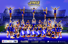 The 2014-2015 JMU Cheerleading poster is here! Click to download!
