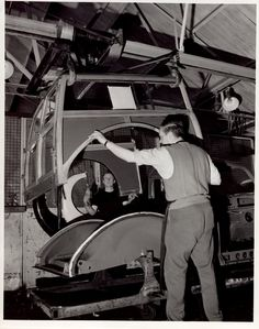 Morris traveller in production. Morris Traveller, Morris Marina, Woody Wagon, Morris Minor, Car Restoration, Shooting Brake, Gmc Trucks, Small Cars, Automotive Design