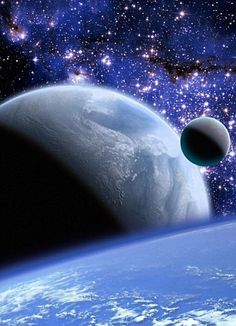 Floating through space... Nomadic planets may pick up and harbour life as they journey around the galaxy