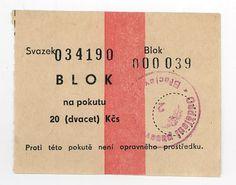 Eastern Europe Border Currency Receipt