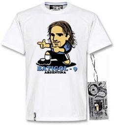 Tshirt Batigol - Blanco