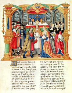 1500 (approx) - Image from Memoirs of Philippe of Commines (memoires completed between 1498 and 1501)