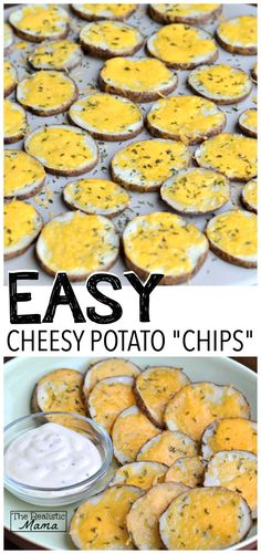 """Cheesy Potato """"Chips"""" #sp"""