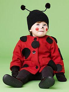 Halloween Costume How-to: Little Ladybug