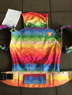 My Unicorn.  Jumpsac Rainbow Waves (Paxbaby Exclusive) TULA BABY CARRIER