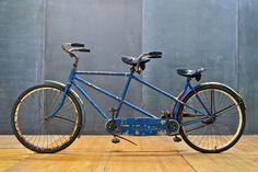 1946 USA Schwinn Tandem Bicycle : Modern50.com 20th Century Vintage Furnishings & Design