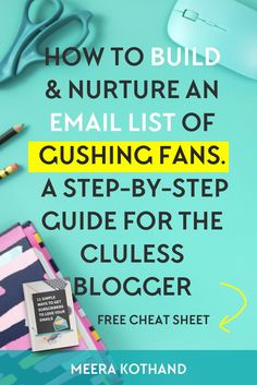 Thinking of building your email list? Need a step by step strategy guide with ideas and tips on how to grow your list, get subscribers and nurture them? In this post I walk you through how to get started with your email list from scratch. Look out for an