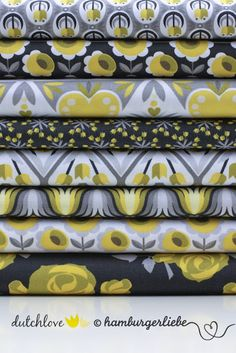 Hamburger Liebe: Stoffe • Fabrics