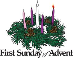 Image result for first sunday in advent clipart