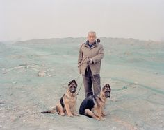 Jiehao Su's series Borderland is a group of delicate and melanchonic images which use documentary photography to construct a very personal, subjective Photography Projects, Color Photography, Gsd Puppies, The Great Escape, Portrait Images, Portraits, Photographs Of People, Contemporary Photography, German Shepherd Dogs