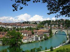 Река Ааре, Берн, Швейцария