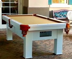 ORION Outdoor Pool Table Made By All Weather Billiards