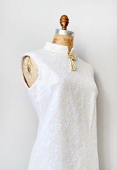 vintage 1960s cheongsam shift dress