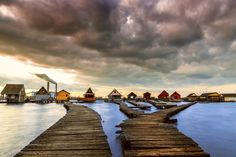 Cottages around the world - Lake Bokod in Hungary