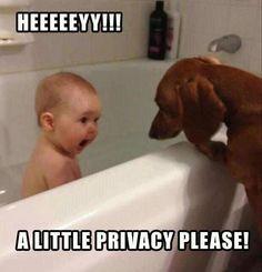 Hehe #Kids #Dogs #Baby #Lol