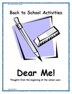 A fun back-to-school activity that allows your students to write a letter to their future selves that you will keep and give back to them at the en...