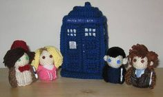 Doctor Who Dolls (and one Plush) 4/14 Update - CROCHET