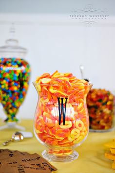 favors - candy bar.. FOR SURE DOING THIS!!