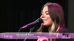 Christina Perri - Be My Baby The Ronettes' cover (Live Bing Lounge)