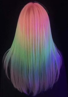 58 Stunning Unicorn Hair Color Ideas for 2018. Are you feeling bore with your existing hair colors? See these bold and beautiful trends of unicorn hair colors and highlights to wear with long sleek hair in year 2018. These colorful hair are much pretty and suitable for various hair lengths and hair textures nowadays. So choose the cutest unicorn hair colors in 2018.