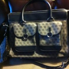 Authentic Dooney & Bourke New with cosmetics bag and matching key changer Dooney & Bourke Bags Satchels