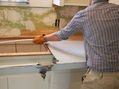 DIY Installing Stainless Steel Counters | Kitchen Our House