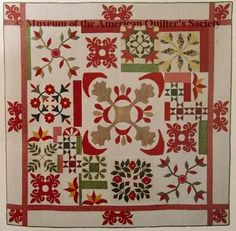 antique sampler--I love the not quite rightness about this quilt.