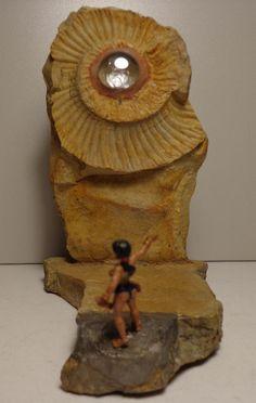 Ammonit Franken Jura Malm  Hexe Witch am Hexenstein