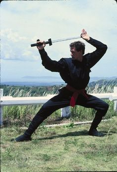Still of Michael Dudikoff in American Ninja (1985) Great Moive, one of my favorites