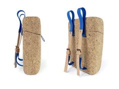 hand carved cork backpack, inrou-by-ryosuke-fukusada-and-rui-pereira