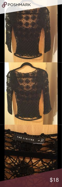 """New The Limited see through long sleeve blouse New with out tags , purchased this years ago , 17"""" bust , 23,5"""" length. ❌Price firm The Limited Tops Blouses"""