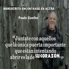 MANUSCRITO ENCONTRADO EN ACCRA.                            Paulo Coelho.