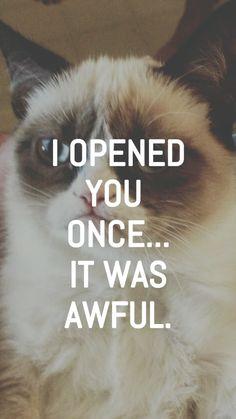 My Lockscreens - Grumpy Cat