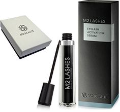 M2lashes Eyelash Activating Serum 5ML  M2Beaute Gift Box  Most Powerful Eyelash Growth Serum  based on the proven and effective Revolutionary MDN COMPLEX  Dermatologist Tested BEST Eyelash Growth Product -- More info could be found at the image url.