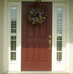 Plantation Shutters for sidelights
