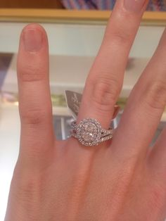 LOVE THIS! Neil lane 1/2 oval ring from Kay jewlers!!!!!