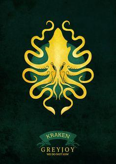 House Greyjoy | Game of Thrones