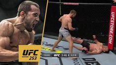 Ludovít Lajoš Klein vyhral zápas v UFC nad Youngom KO (VIDEO) Ufc, Wrestling, Sports, Lucha Libre, Hs Sports, Sport