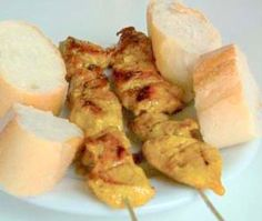 Recipe for Spanish Spicy Skewers of Pork