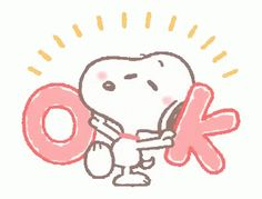 The perfect Snoopy Ok Animated GIF for your conversation. Gifs Snoopy, Snoopy Videos, Snoopy Images, Snoopy Pictures, Snoopy Quotes, Woodstock Snoopy, Snoopy Love, Charlie Brown And Snoopy, Peanuts Cartoon