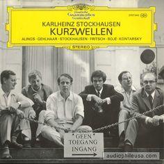 Stockhausen: Kurzwellen. Deutsche Grammophon. Vinyl LP record. 2707 045