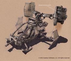 Borderlands 2 Concept Art by Lorin Wood