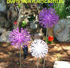 Crafts from plastic bottles 3