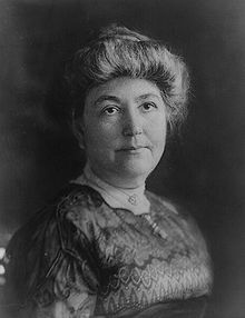 #29 Ellen Axson Wilson(May 15,1860- August 6, 1914),first wife of Woodrow Wilson,was First Lady of the US from 1913 until her death.Thomas Woodrow Wilson first saw her when he was about three and she was only a baby.Wilson, aged 28, married Ellen, aged 25, on June 24,1885,she died from Bright's disease in the White House on August 6, 1914.The Wilsons had three daughters